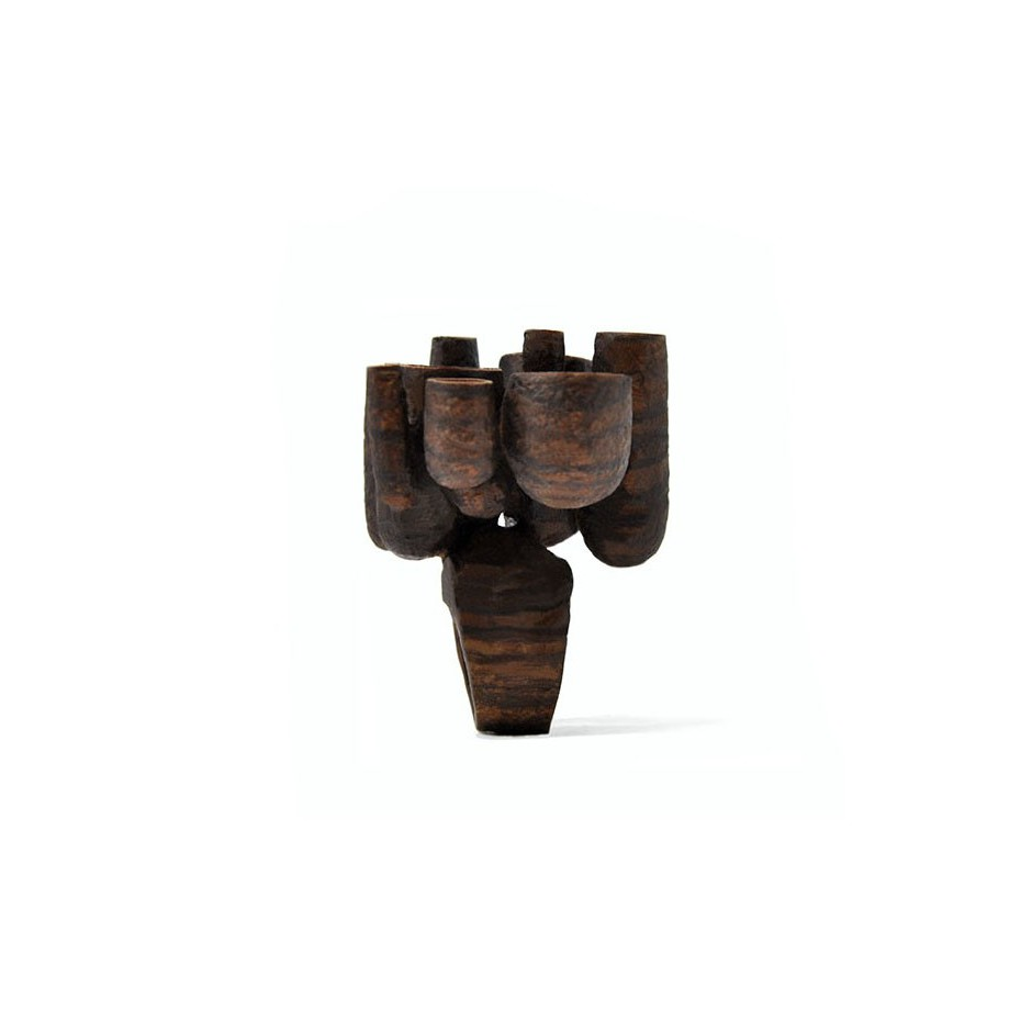Mirizzi - Demattia 01B - Limited Edition - Ring made of Walnut wood.
