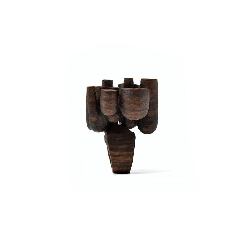 Mirizzi - Demattia 01B - Limited Edition - Ring made of Walnut wood.