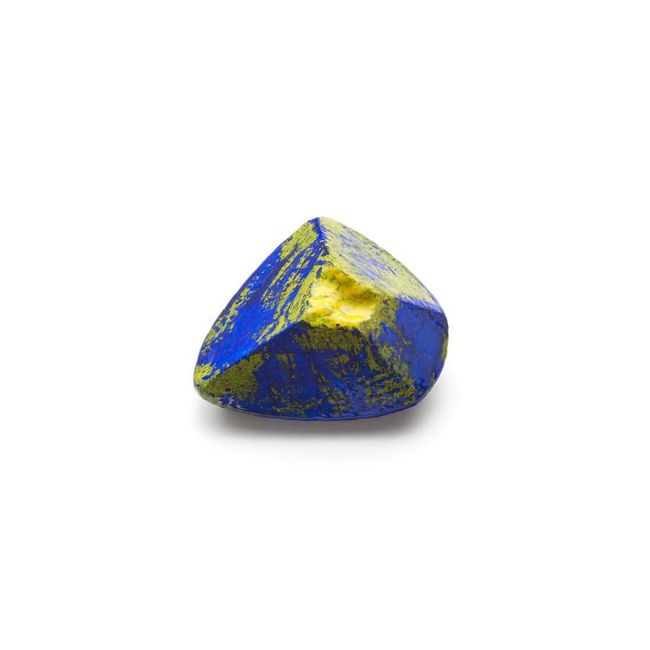 Corrado De Meo 21AA - Brooch - Unique piece - Polystyrene, acrylics, resin, silver, steel