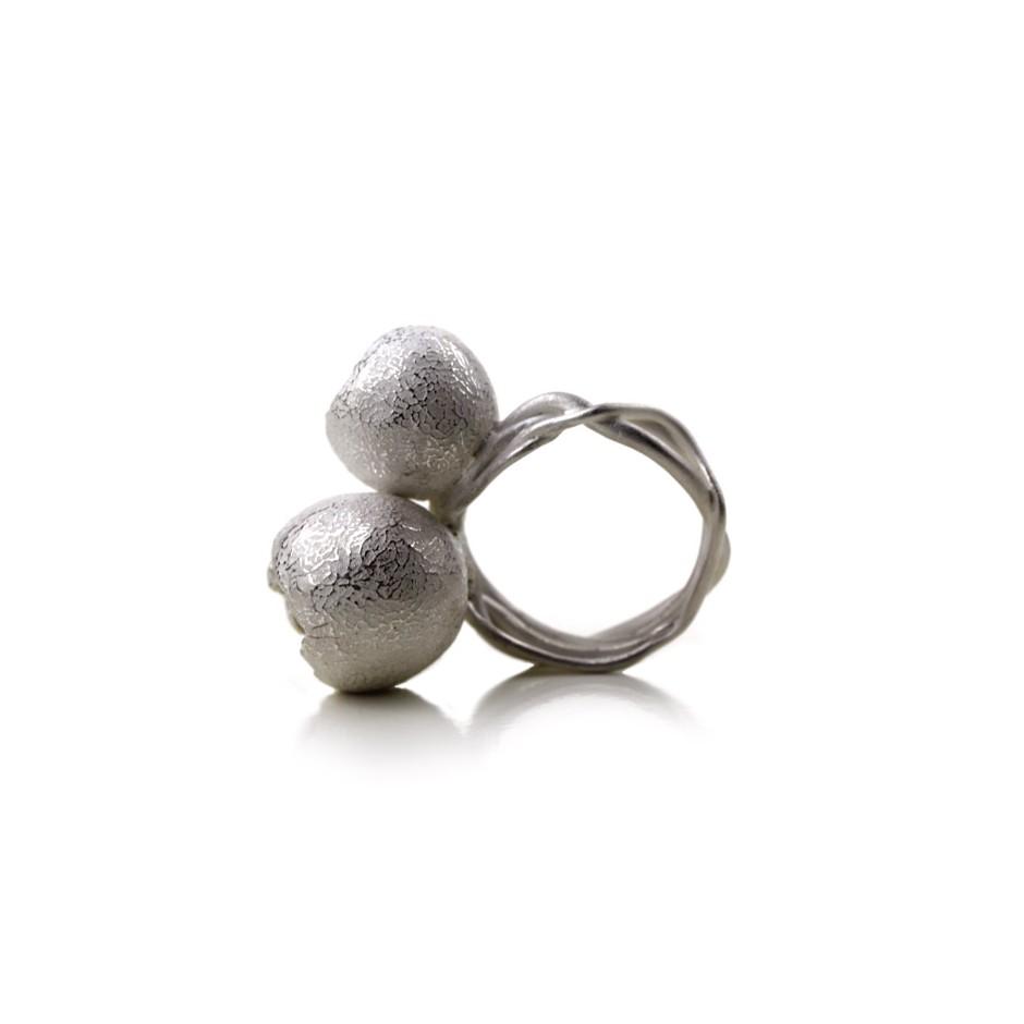 Margo Nelissen 20B - Unique Piece - Ring made of silver 925