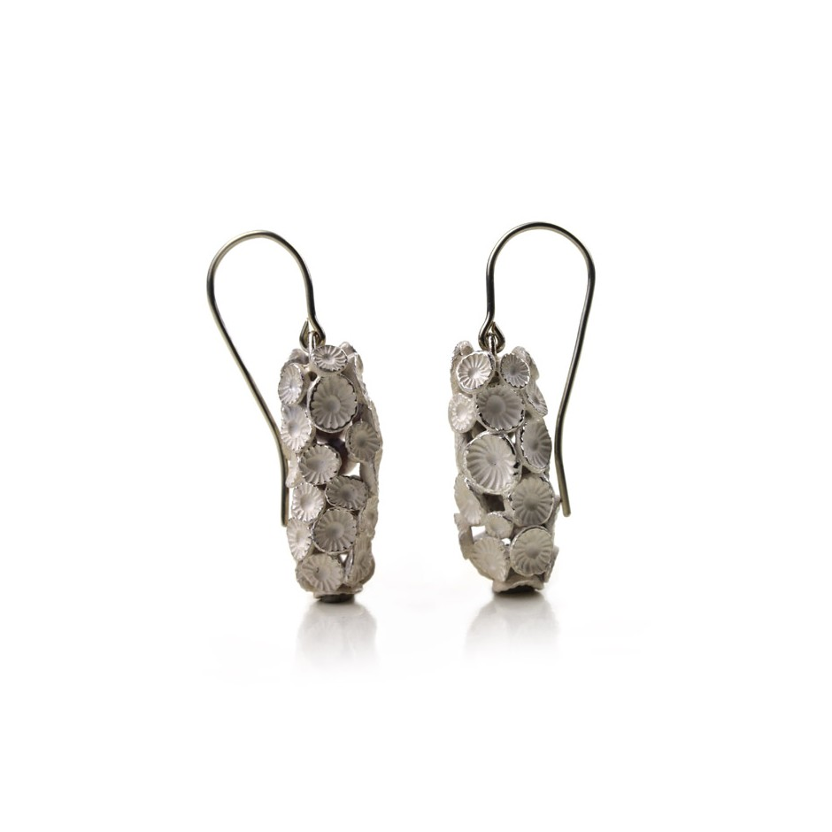 Margo Nelissen 21A - Unique piece - Earrings made of silver 925