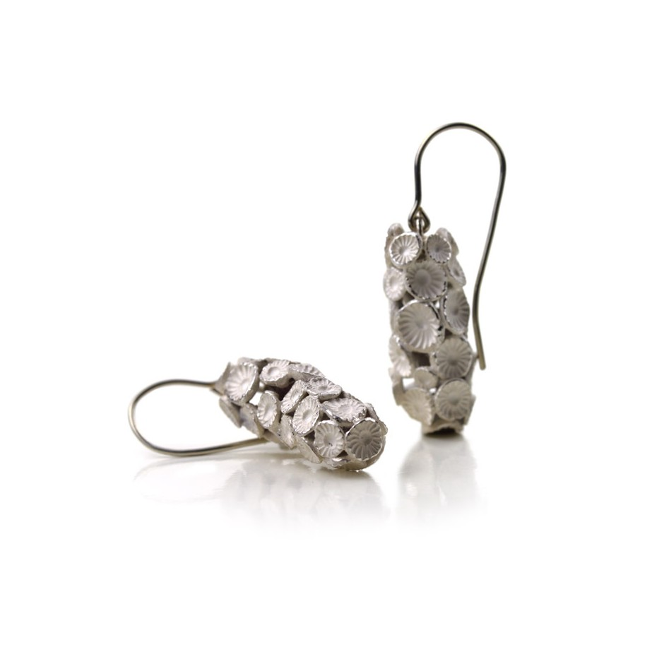Margo Nelissen 21B - Unique piece - Earrings made of silver 925