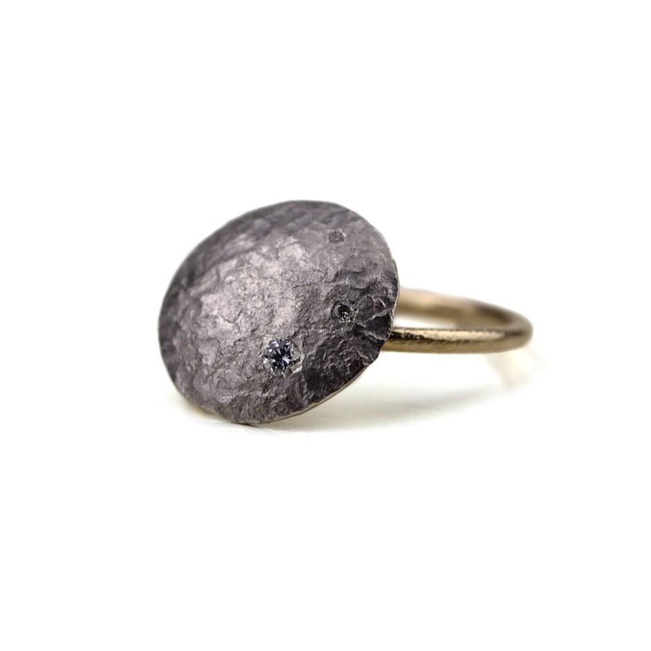 Marco Malasomma 47A - Ring - Luna Piena - Platinum, white gold and diamond
