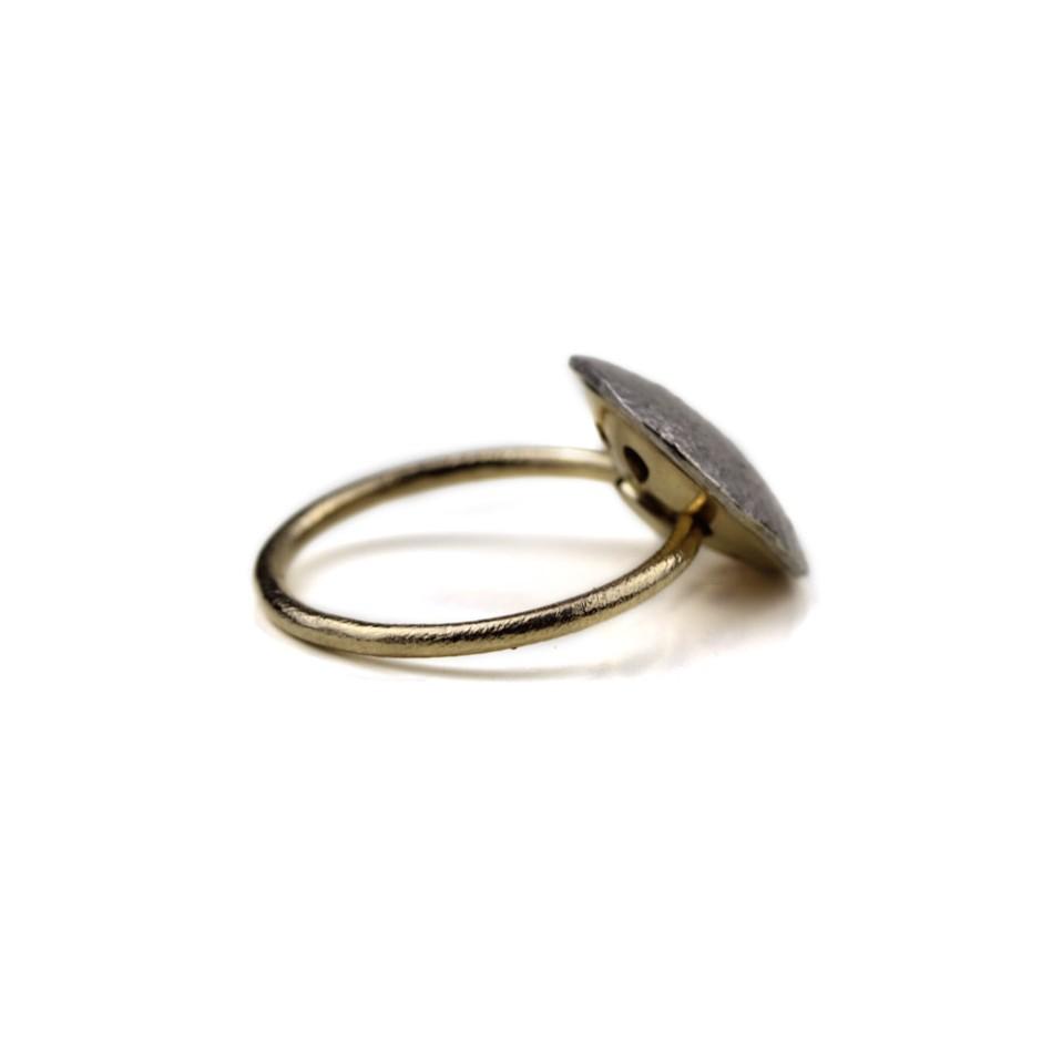 Marco Malasomma 47B - Ring - Luna Piena - Platinum, white gold and diamond