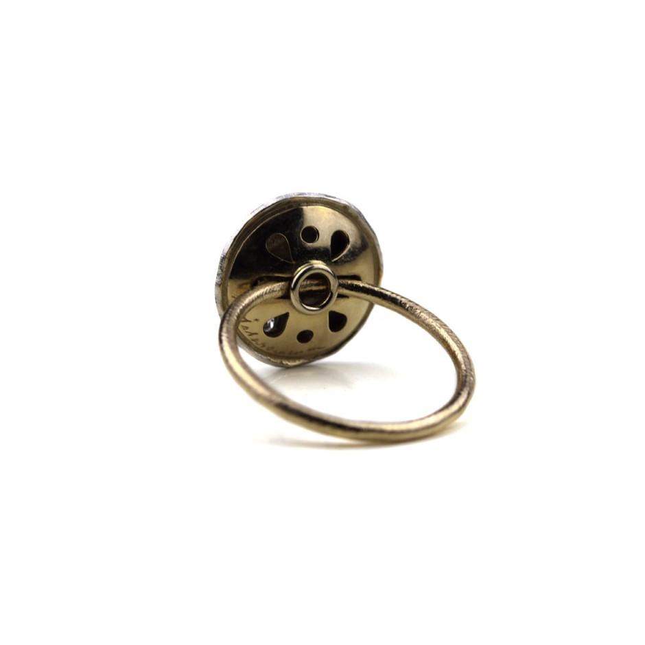 Marco Malasomma 47C - Ring - Luna Piena - Platinum, white gold and diamond
