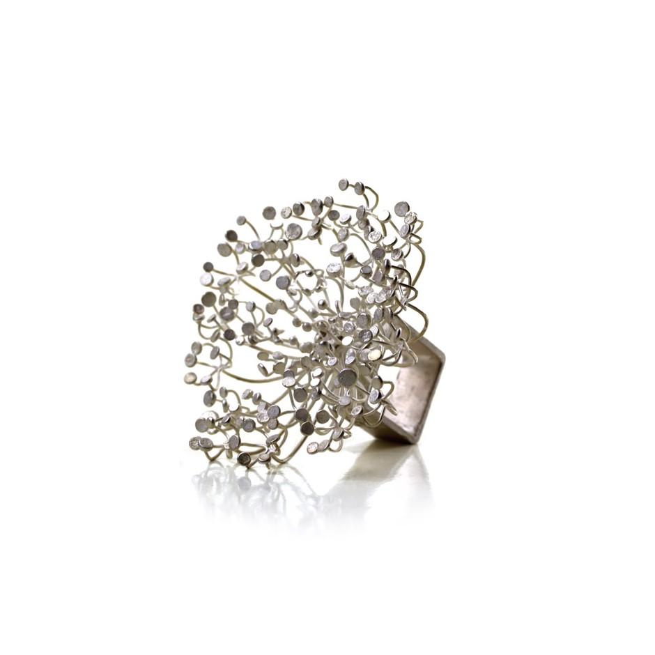 Ute Kolar 22B - Ring - Dolden - Silver