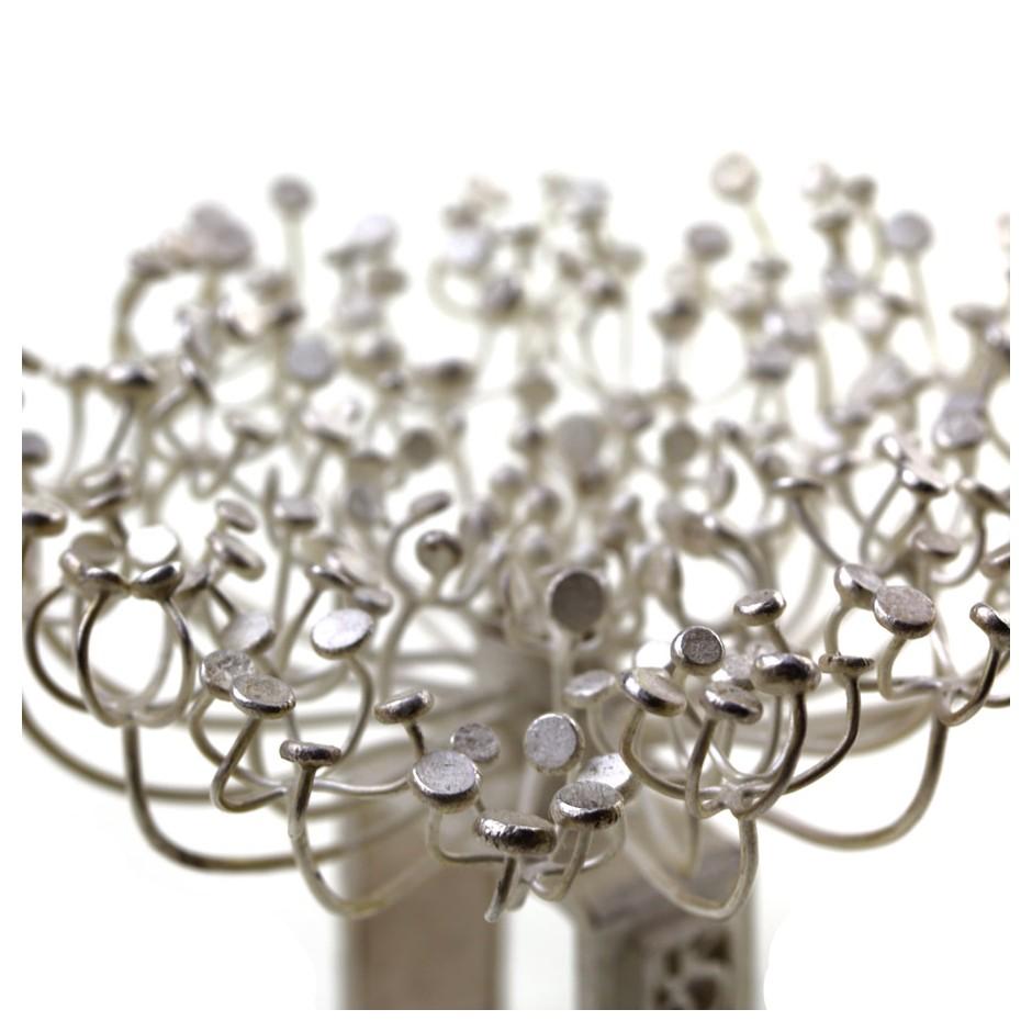Ute Kolar 22E - Ring - Dolden - Silver