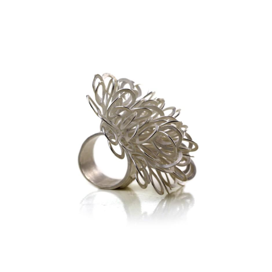 Ute Kolar 23A - Ring - Silver
