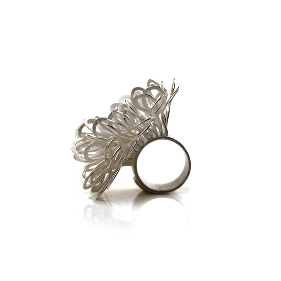 Ute Kolar 23B - Ring - Silver