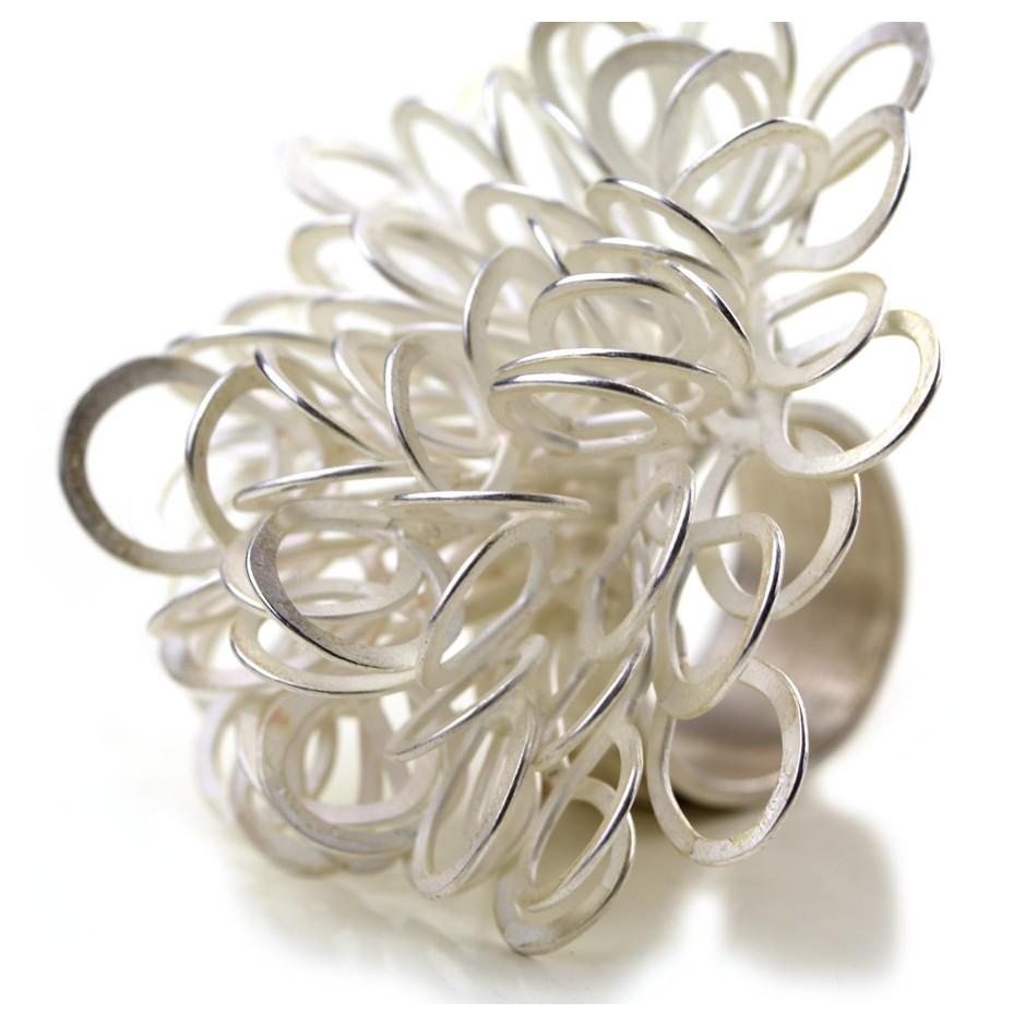 Ute Kolar 23E - Ring - Silver