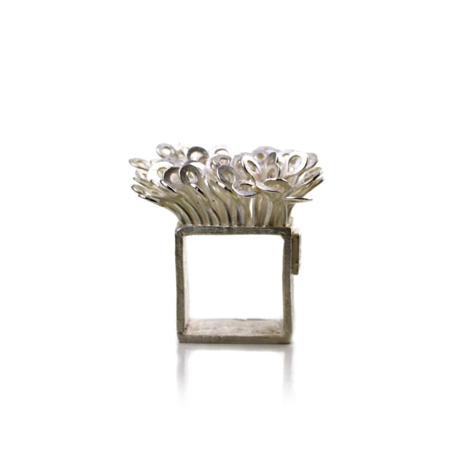 Ute Kolar 25C - Ring - Silver