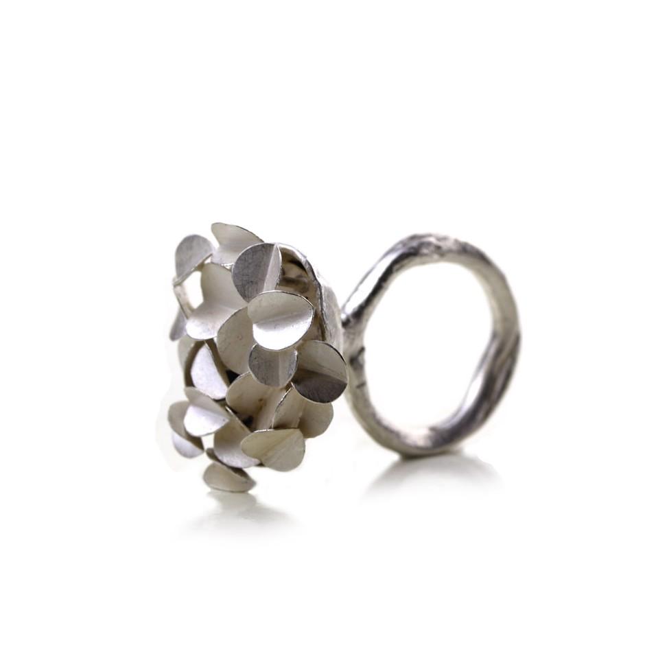 Ute Kolar 29A - Ring - Silver