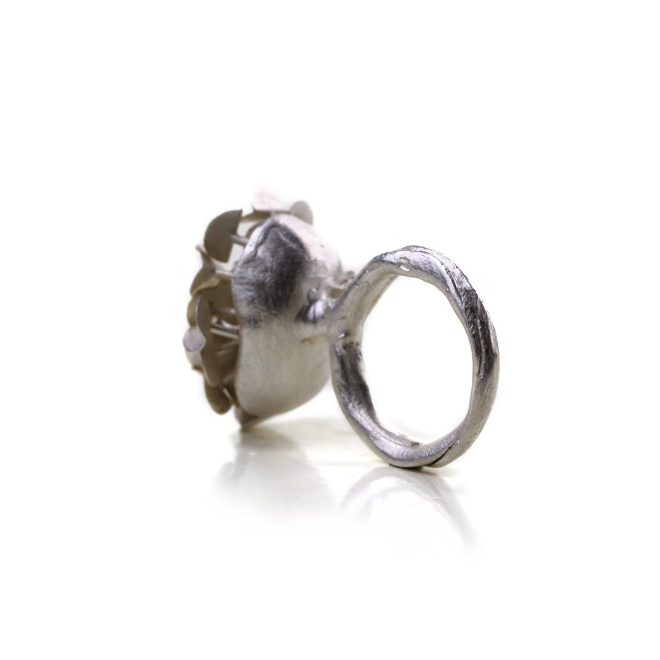 Ute Kolar 29B - Ring - Silver