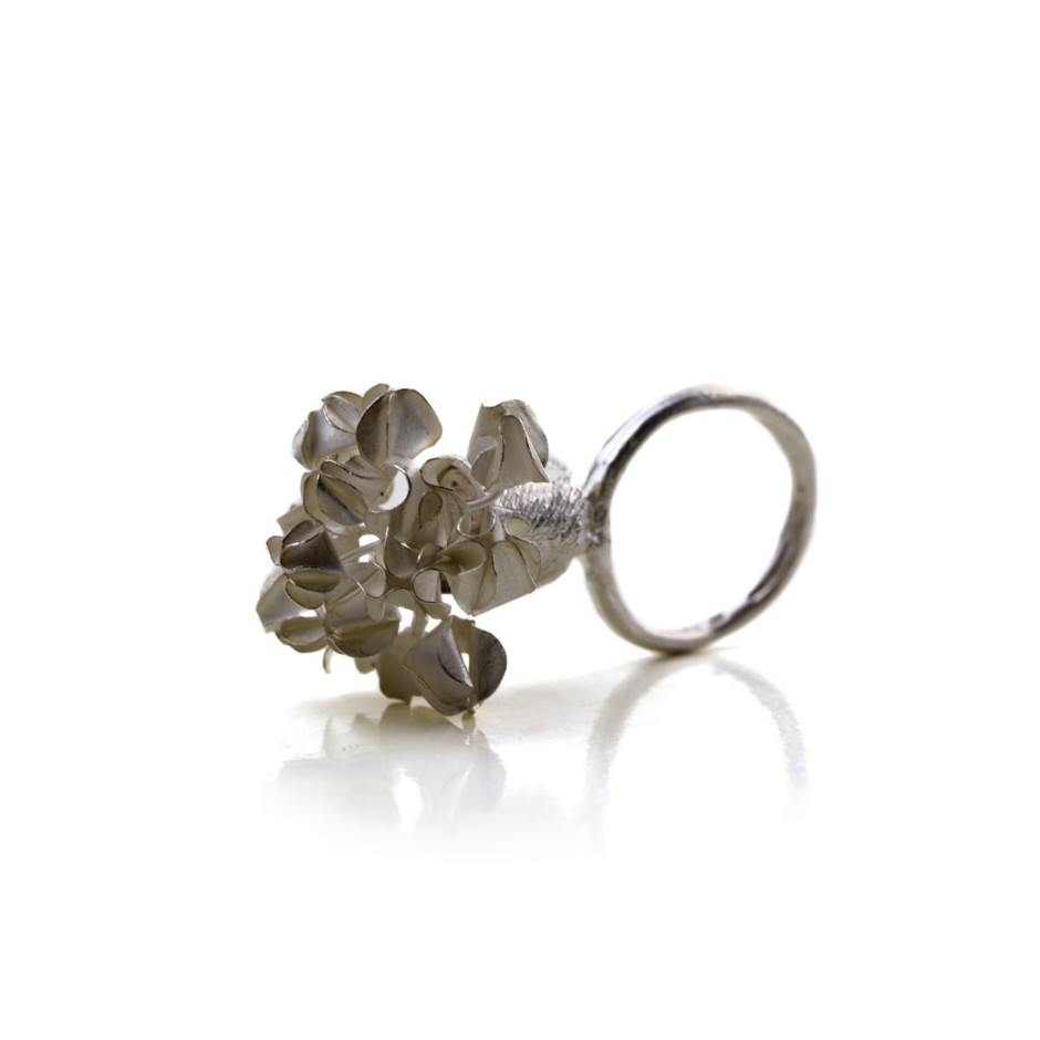 Ute Kolar 30A - Ring - Silver