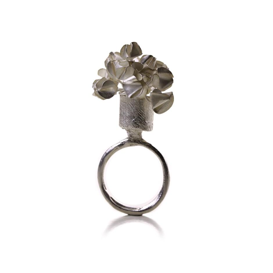 Ute Kolar 30AA - Ring - Silver