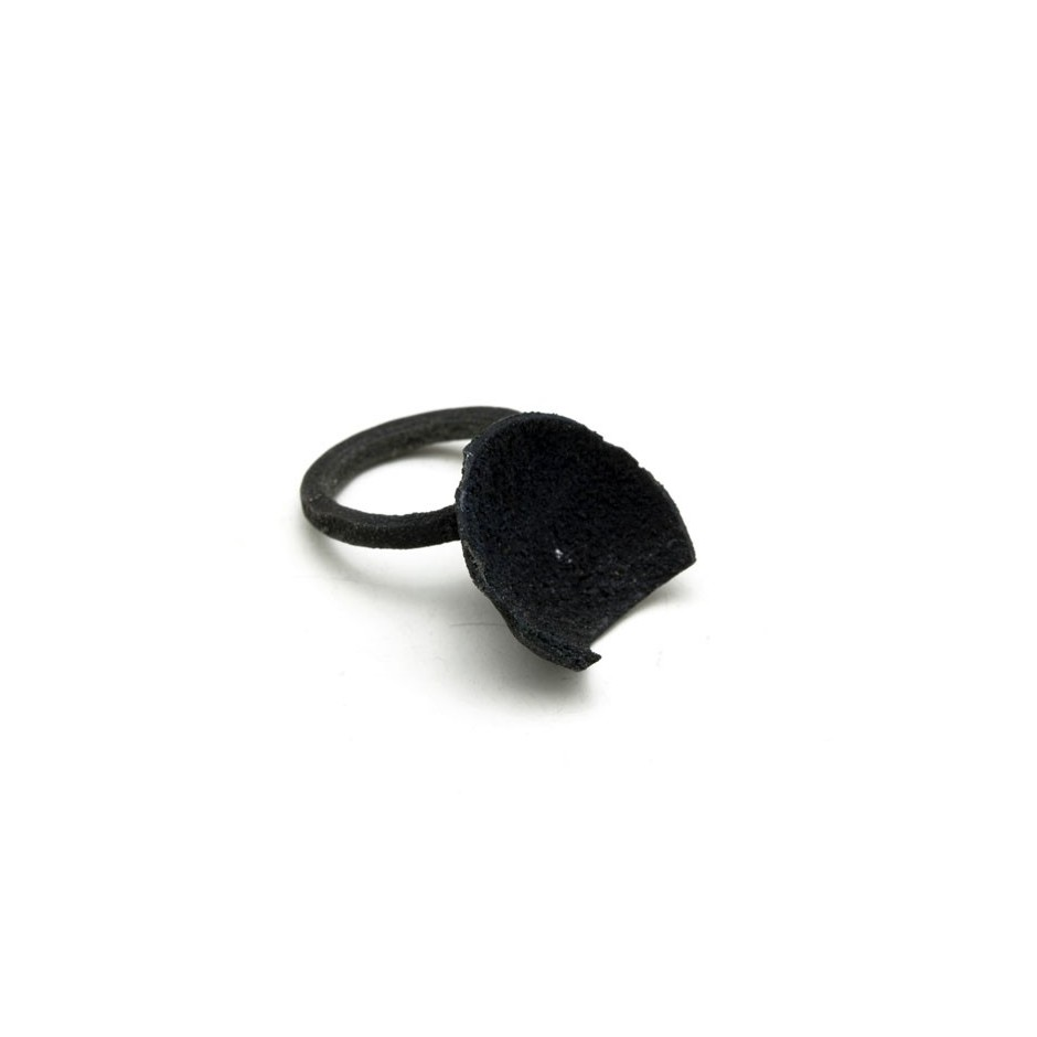 Adrean Bloomard 21C - Ring - Unique piece - Made of oxidized silver