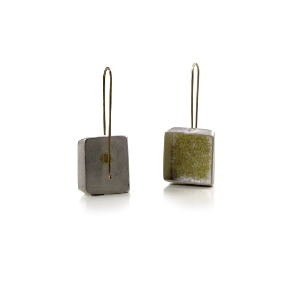 Elisabetta Dupré 46B - Earrings made of silver and gold
