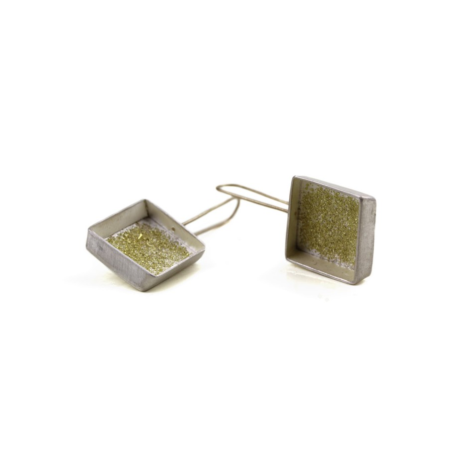 Elisabetta Dupré 46C - Earrings made of silver and gold