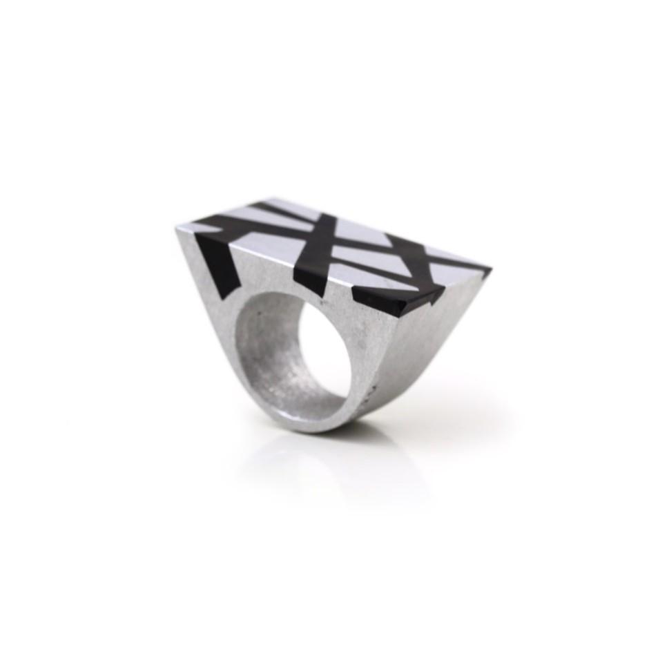 Guido Angeletti 03D - Manhattan - Aluminum and resin