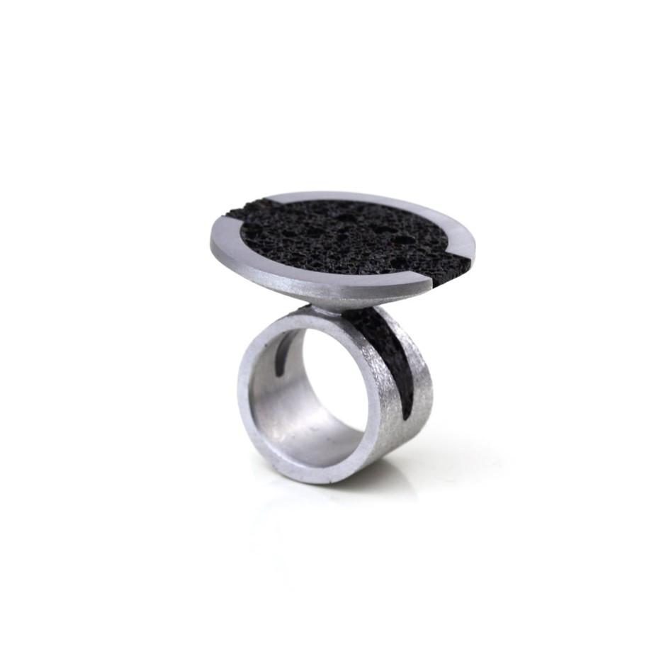 Guido Angeletti 04A - Design Lava - Aluminum and resin