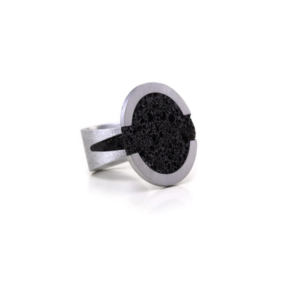 Guido Angeletti 04B - Design Lava - Aluminum and resin