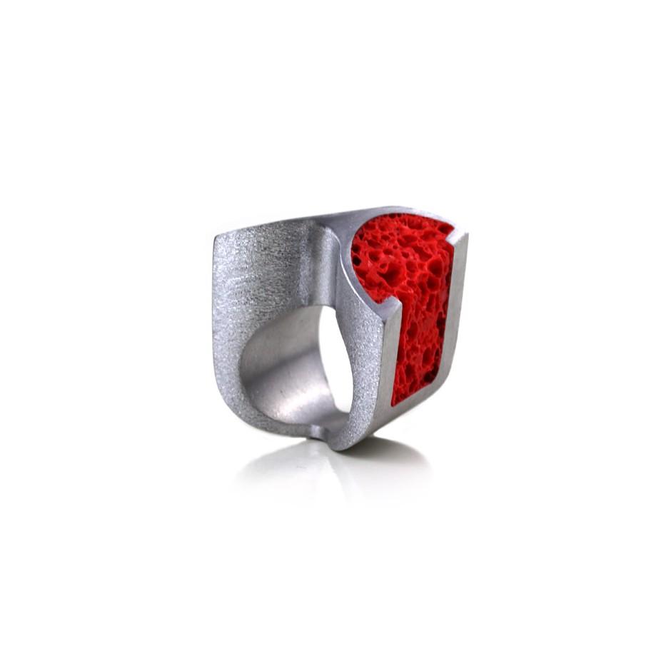 Guido Angeletti 06A - Design Lava - Aluminum and resin