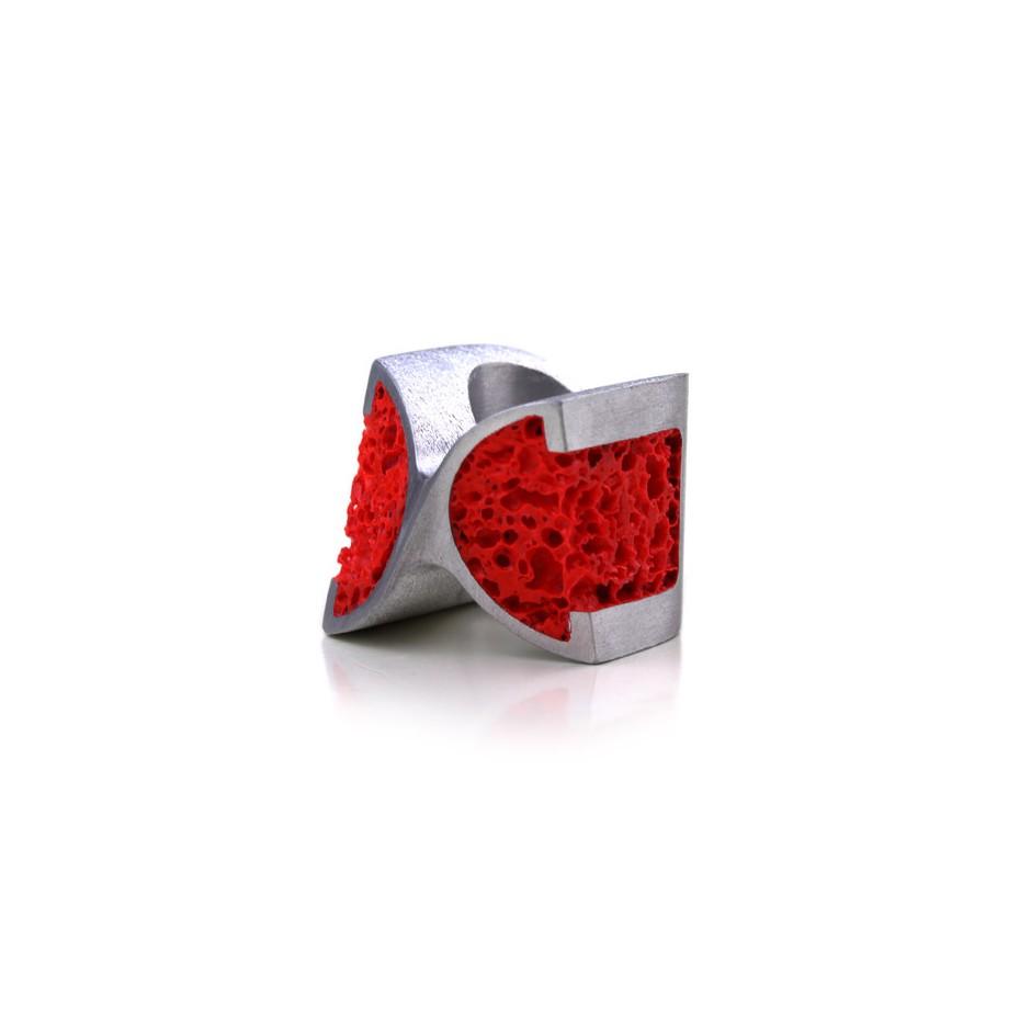 Guido Angeletti 06B - Design Lava - Aluminum and resin