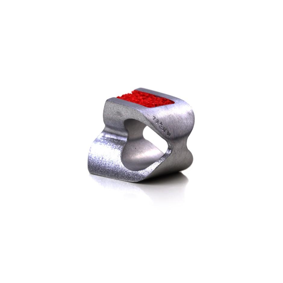 Guido Angeletti 06C - Design Lava - Aluminum and resin