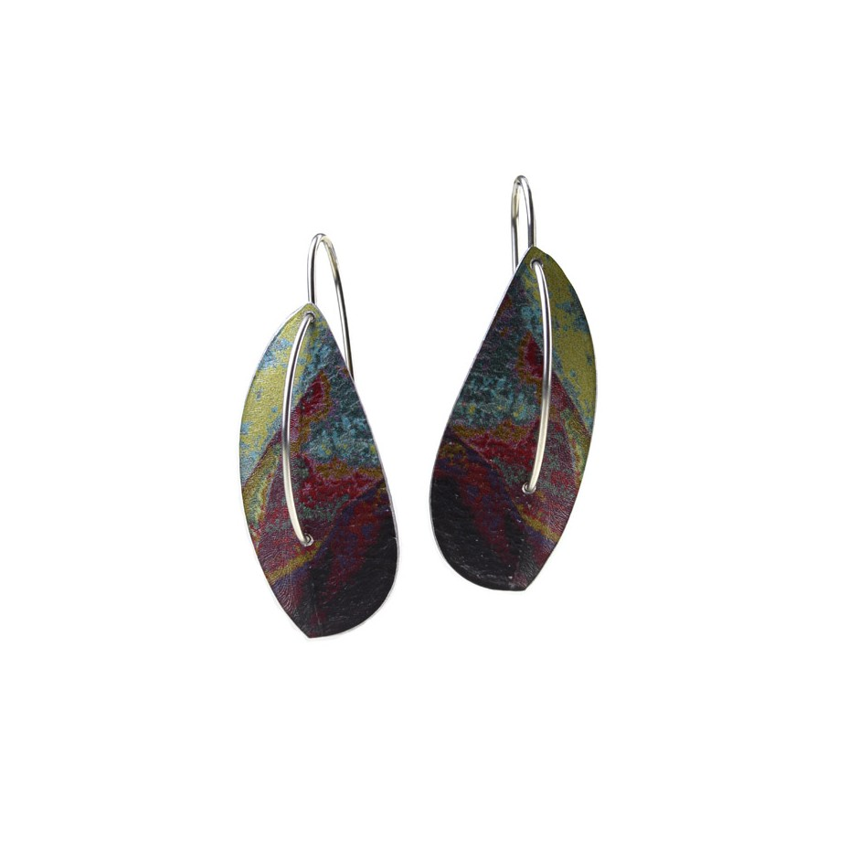 Jane Adam 18A - Earrings - Anodized aluminum