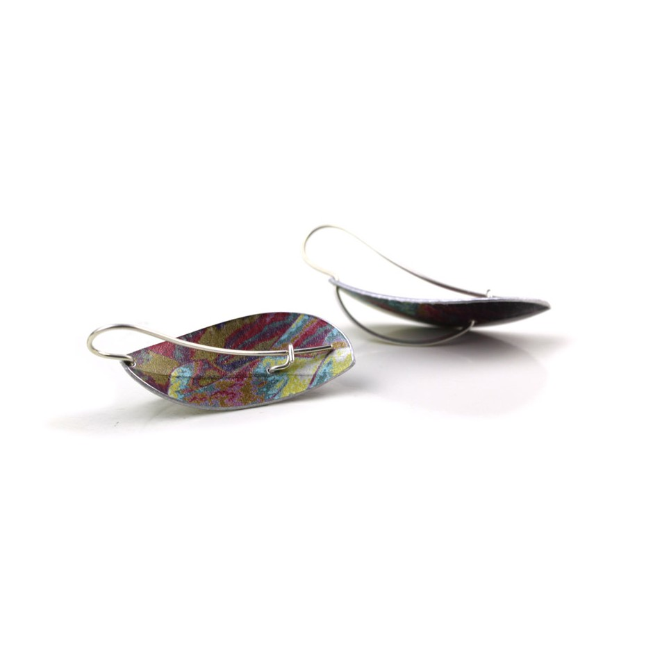 Jane Adam 18C - Earrings - Anodized aluminum