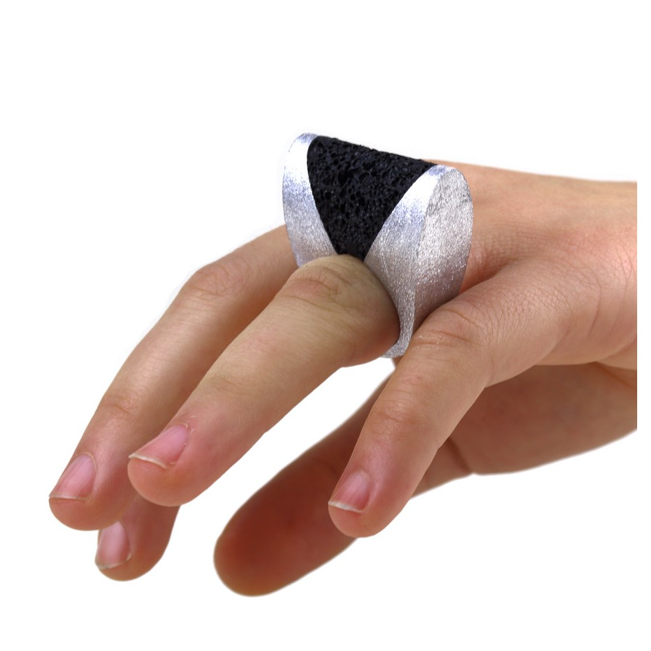 Guido Angeletti 23D - Ring - Aluminum with black resin