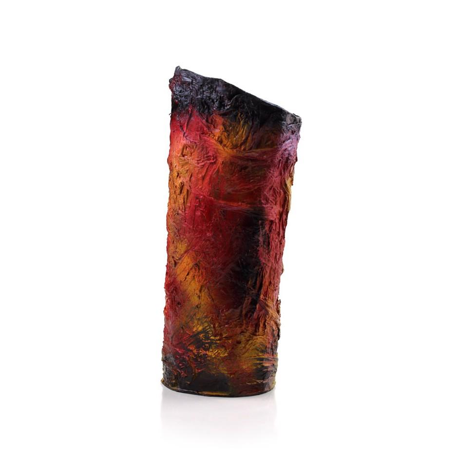 Rita Marcangelo 17VA - Vase - Paper mache, acrylics