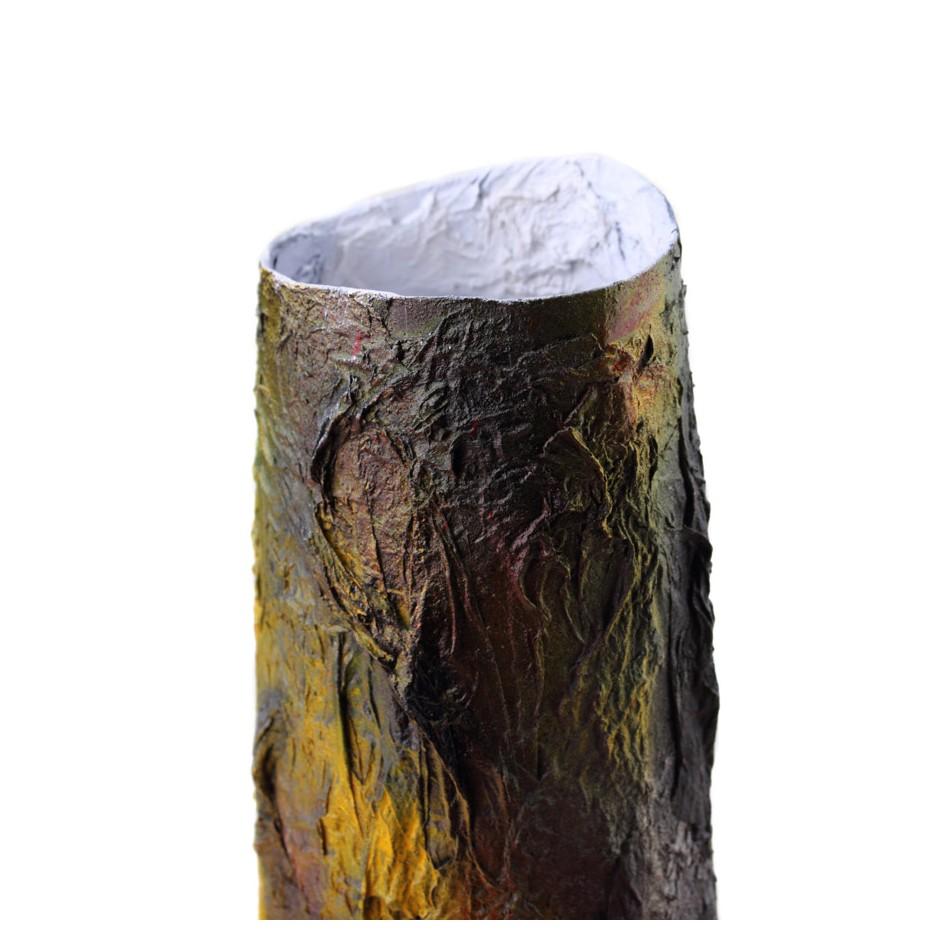 Rita Marcangelo 16VC - Vase - Paper mache, acrylics