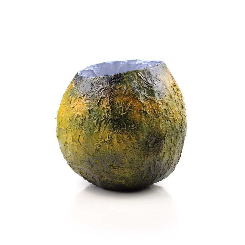 Rita Marcangelo 15VA - Vase - Paper mache, acrylics