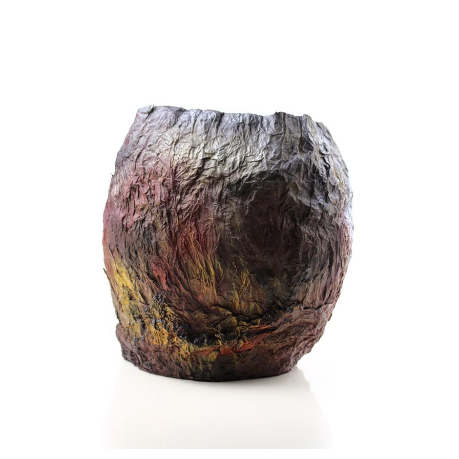Rita Marcangelo 14VA - Vase - Paper mache, acrylics