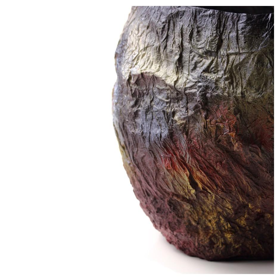 Rita Marcangelo 14VD - Vase - Paper mache, acrylics