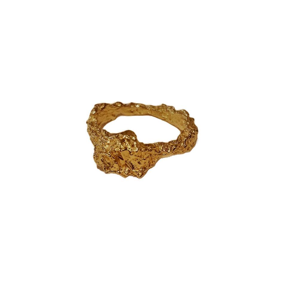 Iliana Tosheva 06A - Ring - 18 kt yellow gold