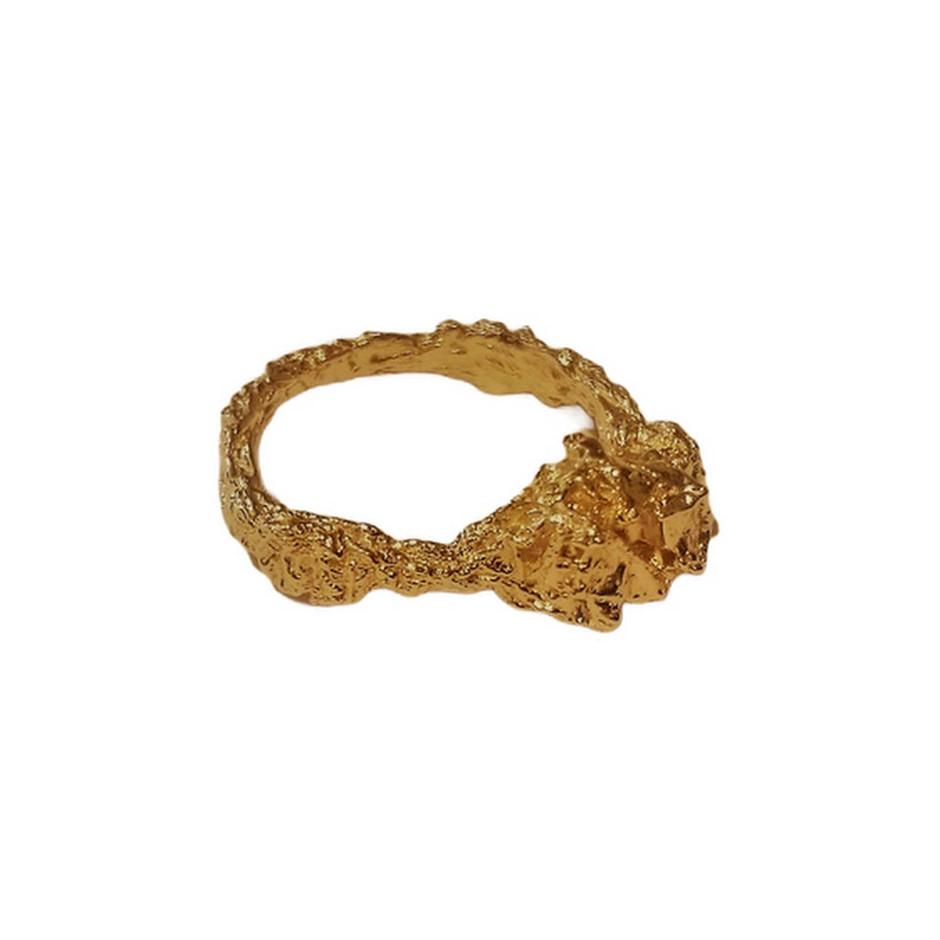 Iliana Tosheva 06B - Ring - 18 kt yellow gold