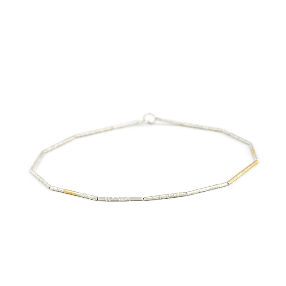 Ingrid Schmidt 03B - Necklace - Silver and gold